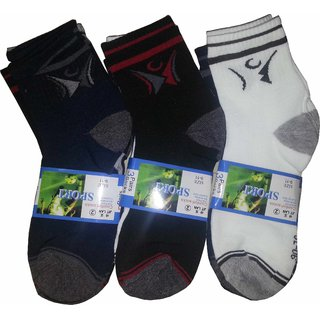 3 Pair Of Sports Socks - 5693506