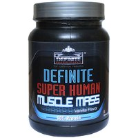 Definite Super Human Muscle Mass 90% Protein 500 Gms(1.1 Lbs) Vanilla Flavor