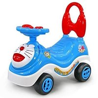 Doraemon Kids Ride On Push Car With Music