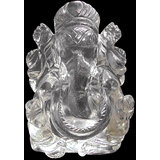 Vedka Indian Idol FENG SHUI GANESH STATUE HANDMADE HOME DECOR ART CRYSTAL BEST GIFT SPECIAL