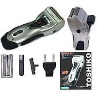 Shipping FREE TOSHIKO/ BRITE RECHARGEABLE SHAVER WITH TRIMMER