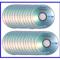 25 Pieces Good Quality 8.5GB Double / Dual Layer Blank DVD
