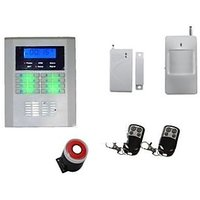 GSM PSTN Wireless Autodial Home Security System Burglar Alarm Anti Theft