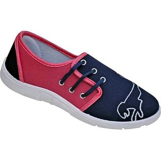 TRV Women's Pink Casual Shoes