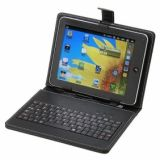"7"" Black Cover Case USB Keyboard For Tablet PC"