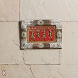 An Attractive Frame With Dhokra Work & Warli Paint