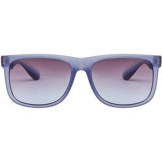 Fcuk 7187 Blue Transparent Black Blue Gradient C1 Wayfarer Sunglasses