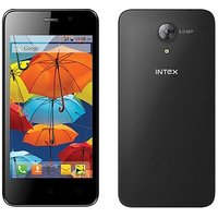 "Intex Style Mini, 4"", Android SmartPhone (Black)"