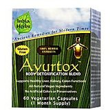 Ayurtox 60 Capsules Herbal Supplement For Body Detoxification