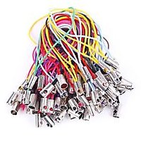 50pcs Lots Cellphone Dangle Charm Strap String Thread Chain Cord Assorted Color