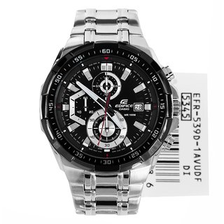 Casio Edifice Stopwatch Chronograph Black Dial Men's Watch - EFR-539D-1AVUDF (EX