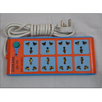 10 AMP 4+4 Power Shocket, Extension Cord Board
