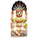 Vedka Jain Religious Statues - Jain Goddess Padmavati Serpentine Gemstone Idol