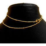 Buy 1 Get 1 Free Long Gold Plated Chain / Necklace