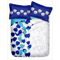 Jovana Purple Double Bedsheet With Two Pillow Covers-Spectra (13)