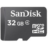 Pack Of Two 32GB SanDisk MicroSD Cards Class 4