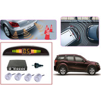 Premium Quality Car Parking Reverse Sensors For - Mahindra XUV 500 - White -  Set Of 4Pcs.