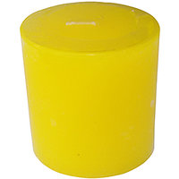 Zanky Lemon Scented Piller Candle-Pack Of 1 (ZYCNL24)