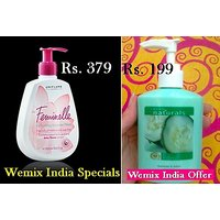 Feminelle Refreshing Intimate Wash And Hand Soap Offer