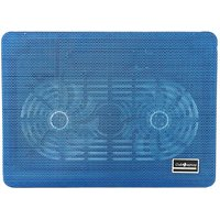"Clublaptop N10 Cooling Pad For 14"" Laptops (Blue)"