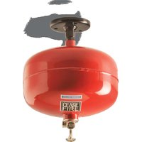 Ceasefire Ceiling Mounted - Clean Agent Gas Based Fire Extinguisher (HCFC 123) - 10 Kg