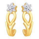 Nakshatra 18KT Gold & Diamond Earring (NERA437)