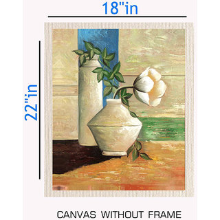 Canvas Painting Without Frame 18X22 Inches