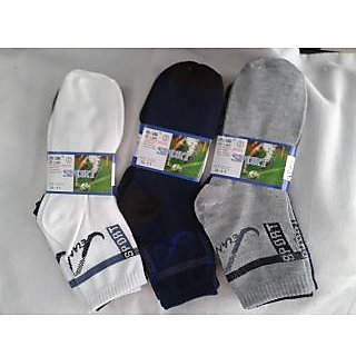 SPORTS SOCKS (PACK OF 12) (free Shipping)