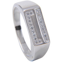 Designer Silver Ring  By Amantran Jewels -(S-R-286)