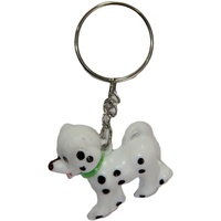 SkyWays Dog Key Chain (White)(KR-56-Dalmatian)