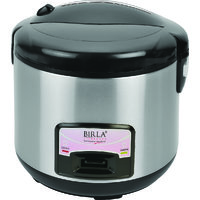 Birla Lifestyle Electric Rice Cooker With S.S.Body BEL - 80E DLX Black