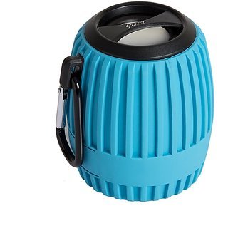 ZAZZ Bluetooth Speaker ZBS127-Blue ' WaterProof'