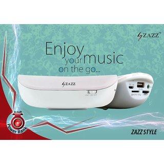 ZAZZ Bluetooth Speaker ZBS136-Pink ' PowerBank'