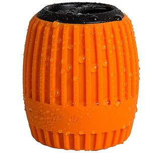 ZAZZ Bluetooth Speaker ZBS127-Orange ' WaterProof'