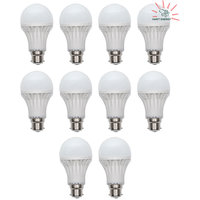 4 Watt Harit Energy Light With Edge Technology (Pack Of 10 LED Bulbs)