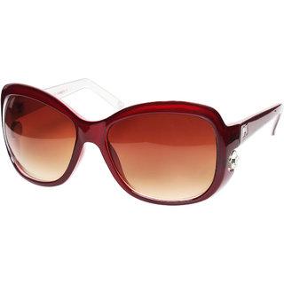 MTV 1021-162 Sunglasses For Women - Brown