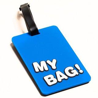 Daffodils My Bag Luggage Strap (Blue-90)