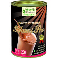 SOYA PROTEIN 90% ISOLATED (BHUMI PRO) 200GM.