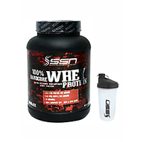 Ssn Whey Protein 2 Lbs-Chocolate -Shaker Free