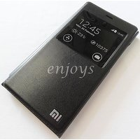 BROWN LEATHER FLIP CASE COVER For Xiaomi Mi3 Flip Cover Case