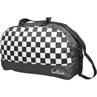 Believe Checker Travel Bag Black