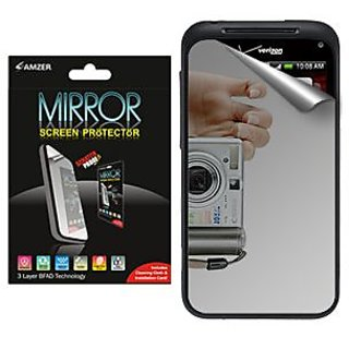 Amzer® 91051 Mirror Screen Protector with Cleaning Cloth for HTC Incredible S