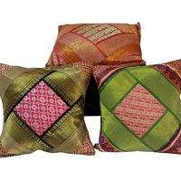 UFC Mart Rajasthani Brocade Design Cushion Cover Set