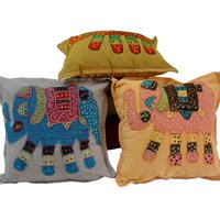 UFC Mart Hand Embroidered Designer Cushion Cover Set