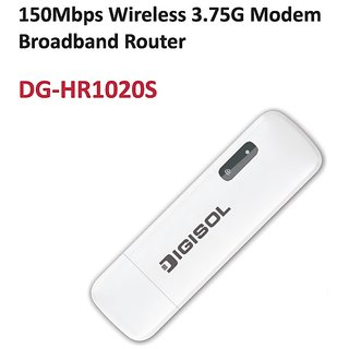 DIGISOL COMFI - DG-HR1020S is 150Mbps Wireless 3.75G Modem Broadband Router