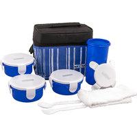 Nayasa Toasty_Big_Lunch_Box-Blue Nayasa Toasty Blue