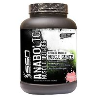 SSN ANABOLIC MUSCLE GAINER, 5.5LBS, STRAWBERRY FLAVOUR