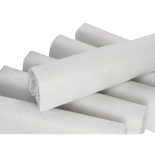 White Cotton Handkerchief - 6 Pcs.