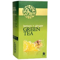 LaPlant Lemon & Ginger Green Tea - 25 Tea Bags