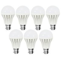 Set Of 7 Led Bulbs 5W For Pure Bright Light